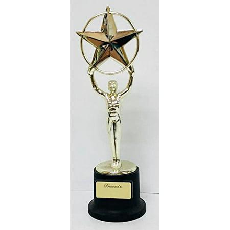 Plastic Trophy Award Sports Activity Scholastic Birthday Event Gift Keepsake (Plastic Trophies)