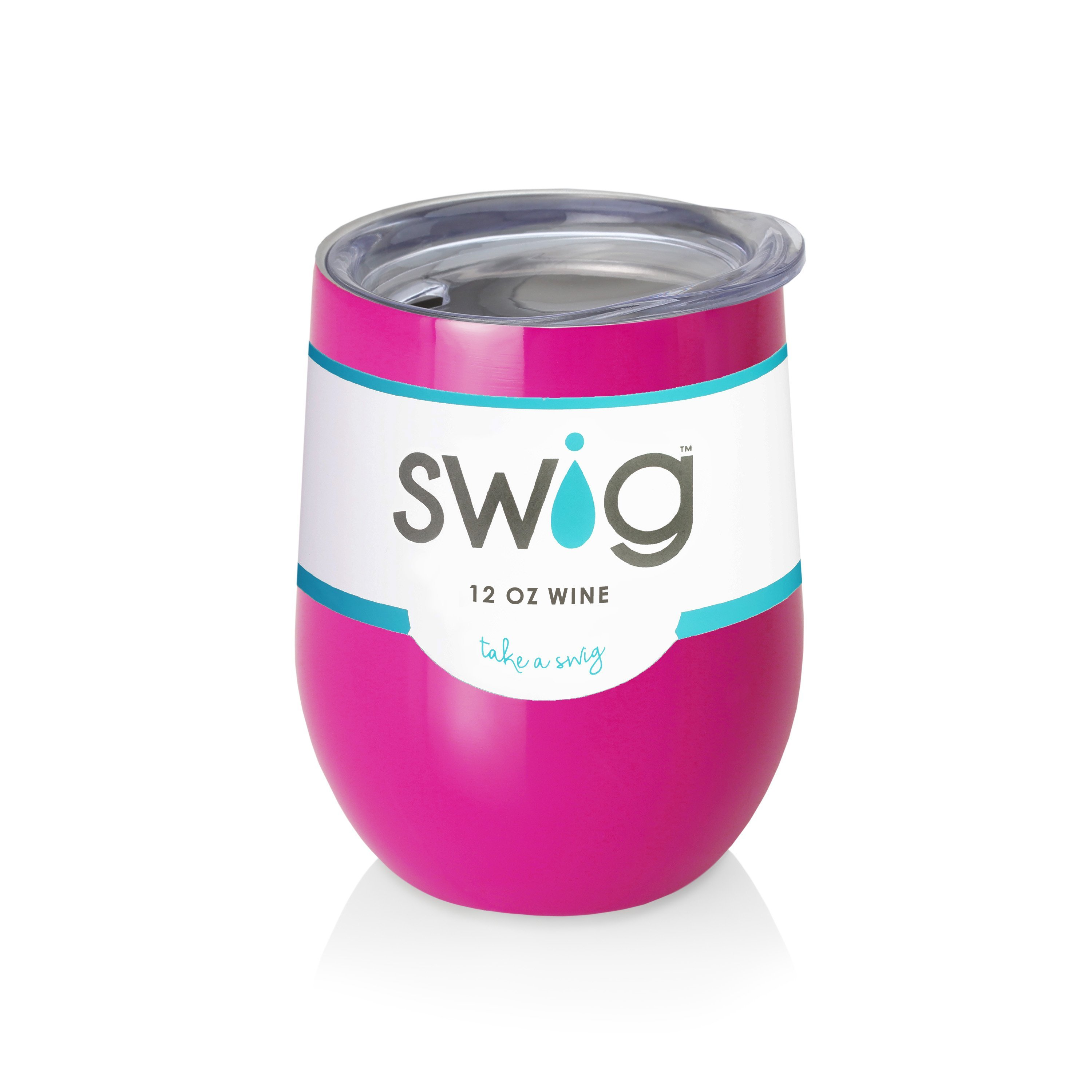 Berry SWIG 12 oz Insulated Wine Cup with Lid