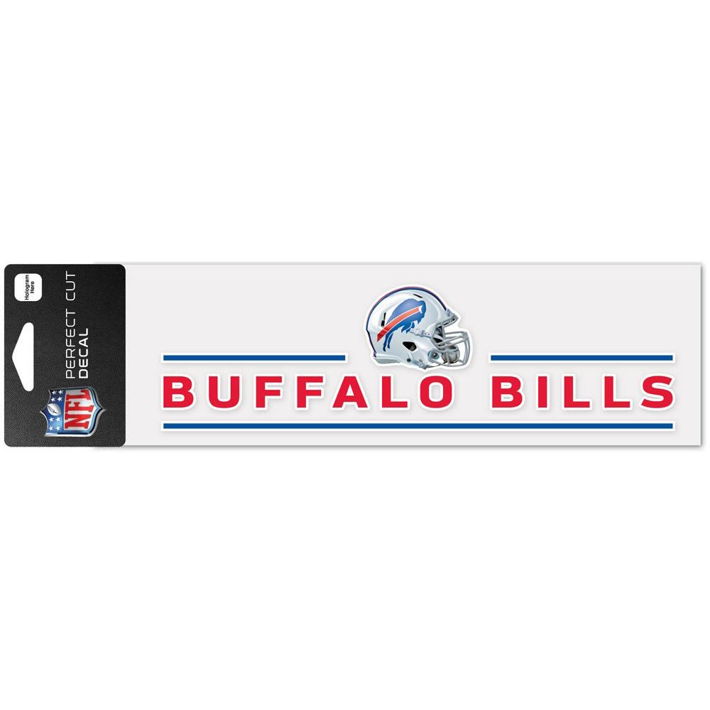 "Buffalo Bills WinCraft 3"" x 10"" Helmet Perfect Cut Decal - No Size"