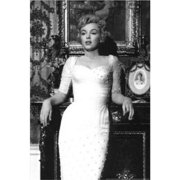 Rare Stunning Marilyn Monroe Vintage White Dress 36x24 Art Print Poster   Photograph Sexy Movie Star Icon