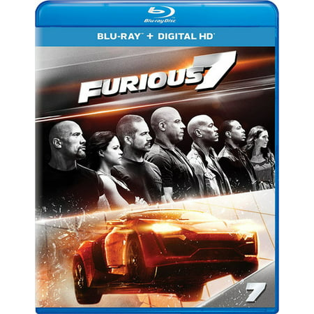 Furious 7 (Blu-ray) (Fast And Furious 1 7 In Order)