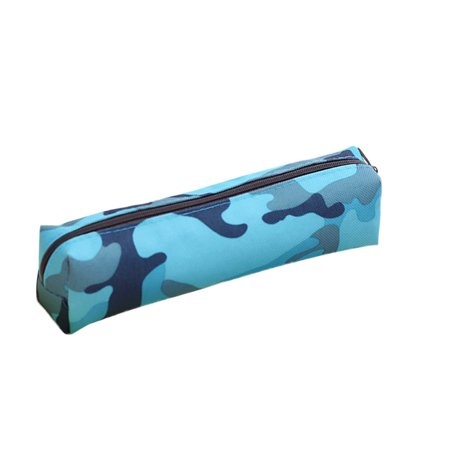 Pencil Case, Justdolife Small Nylon Camouflage Zipper Stationery Pen Storage Bag Box Pouch School Learning Gifts for Kids Girls Boys Students
