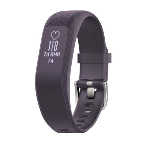 Garmin Vivosmart 3 Activity Tracker, Purple Stainless, S M by Garmin