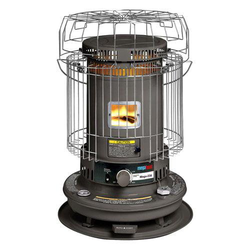 Megaheat 23 000 Btu Kerosene Heater Gray Walmart Com