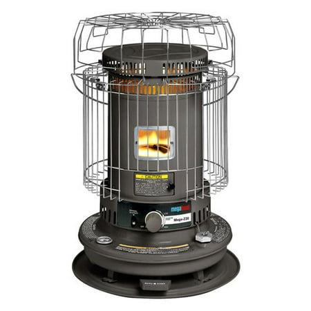 MegaHeat 23,000-BTU Kerosene Heater, Gray - Walmart.com