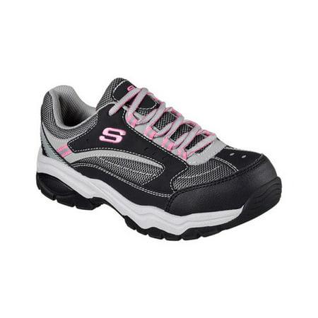 Women's Skechers Work Biscoe Steel Toe (Skechers Steel Toe Sneakers)