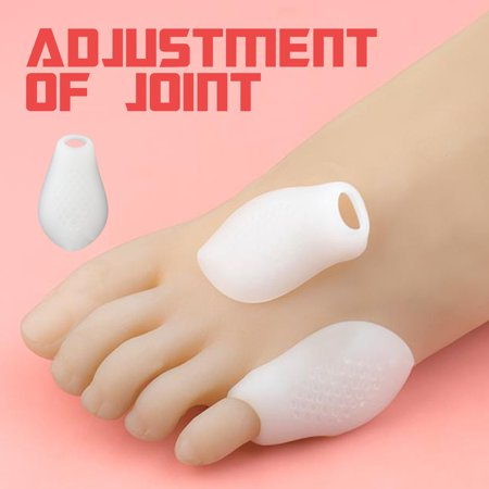 Little Toe Bunion Protectors Pads Feet Foot Pain Relief Corn Callus Latex Gel - image 3 de 9
