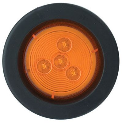 Uriah Products UL172100 LED Trailer Market Light Kit, Amber, 2.5-In.