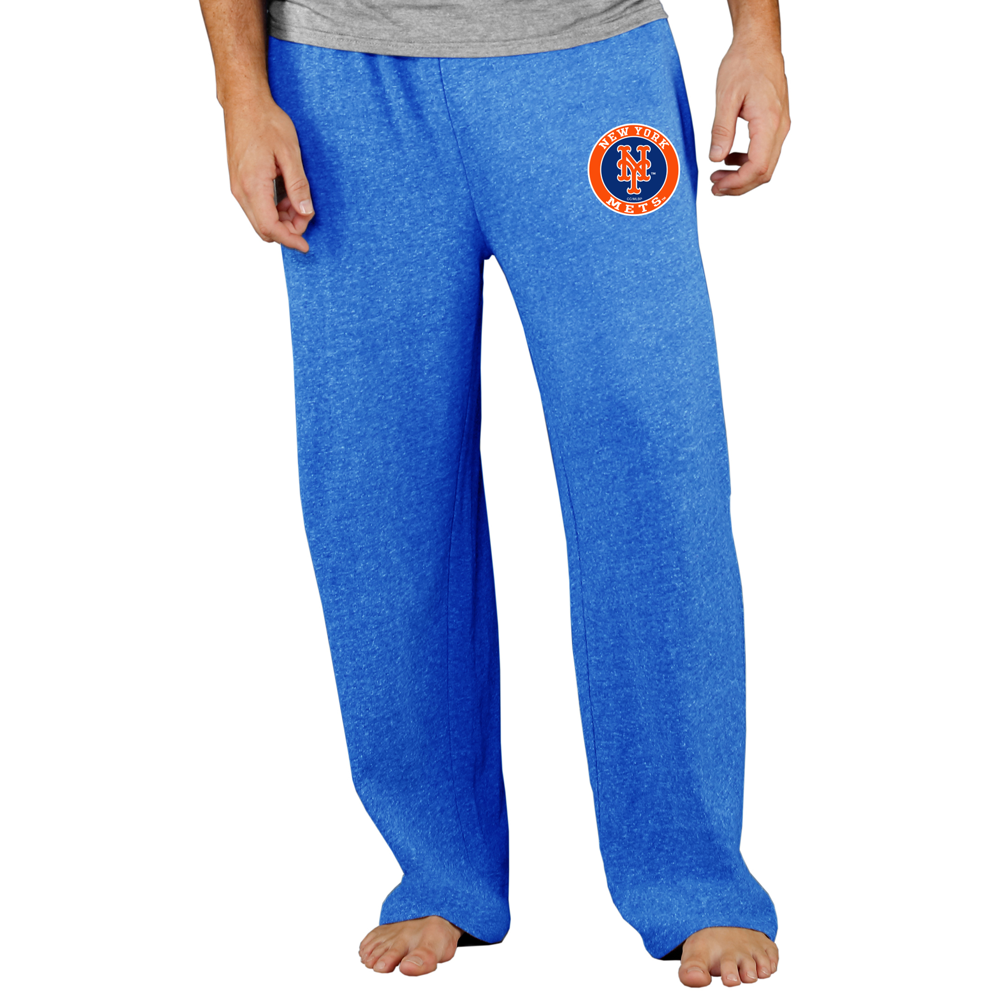 New York Mets Concepts Sport Mainstream Terry Pants - Royal