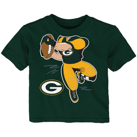 Toddler Green Green Bay Packers Receiver T-Shirt - Packers Uniforms
