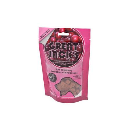 Great Jack's Healthy Semi Moist Liver Treats Cranberry