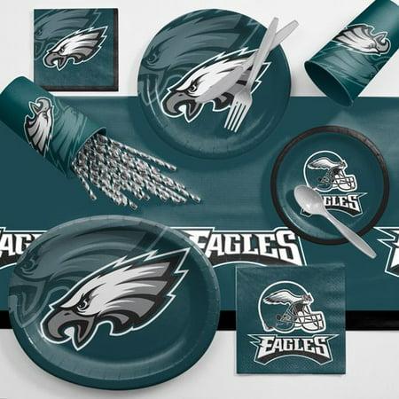 Philadelphia Eagles Ultimate Fan Party Supplies Kit Walmart Com