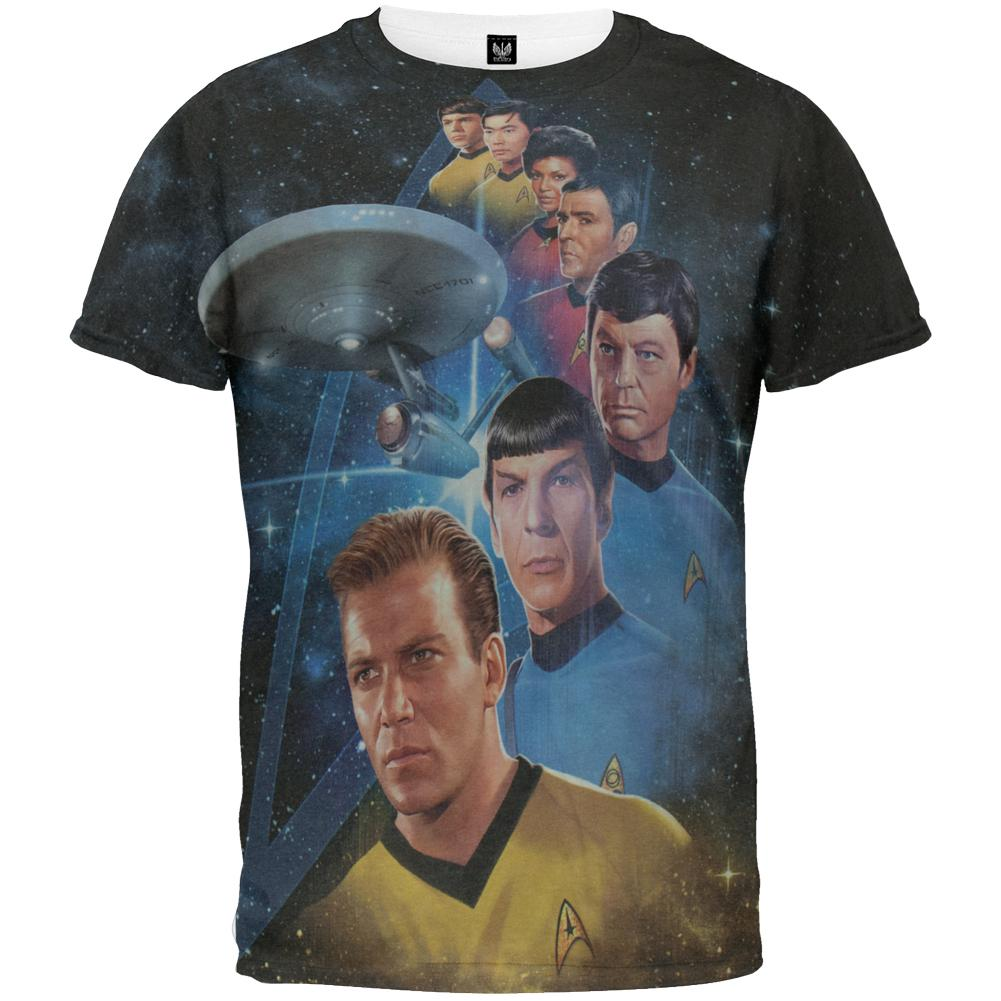 Star Trek Among the Stars All Over T-Shirt