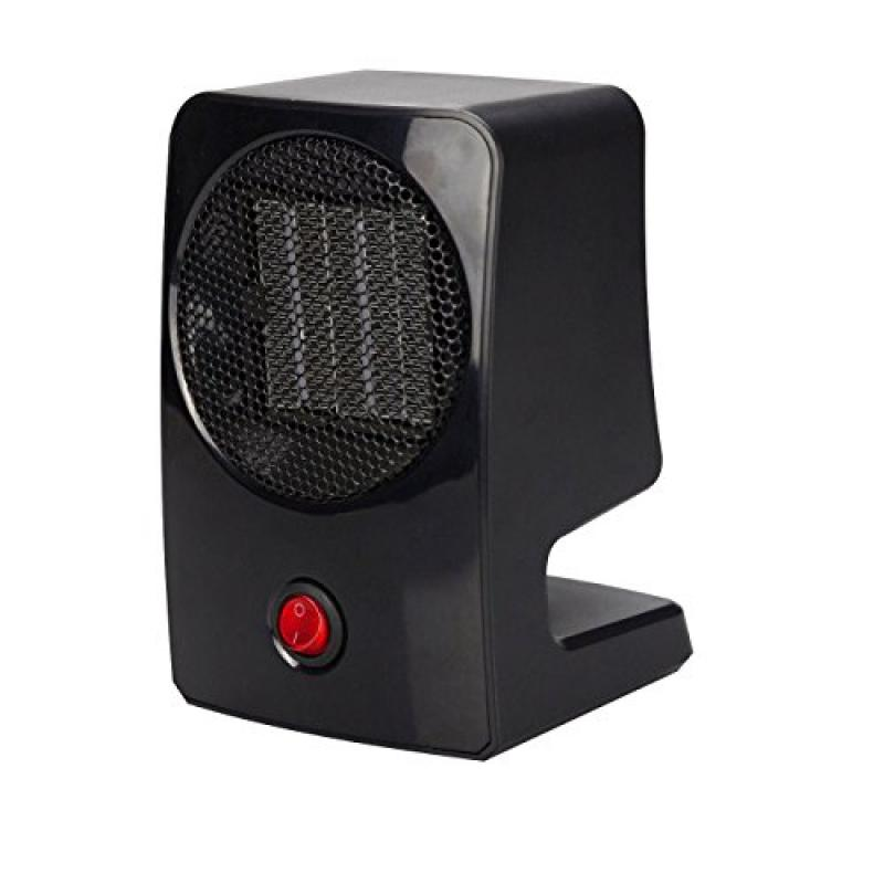 Geepin Personal Ceramic Fan Heater. (Black)