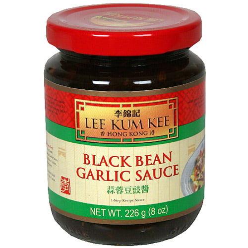Lee Kum Kee Black Bean Garlic Sauce, 8 oz (Pack of 6)