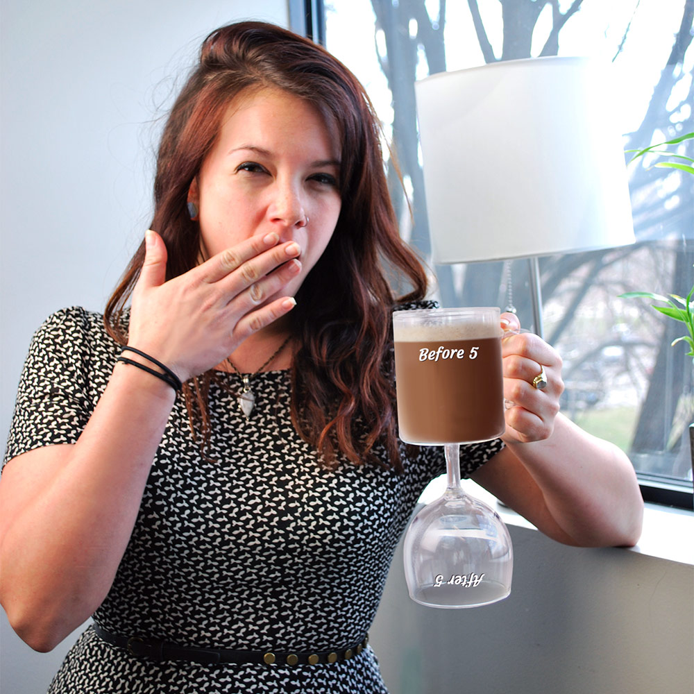Image result for coffee mug/wine glass