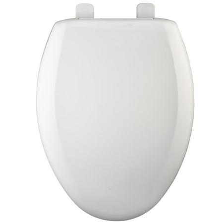 Bemis 7900TDGSL Elongated Bowl Closed Front Toilet Seat Toilet Bowl Seal