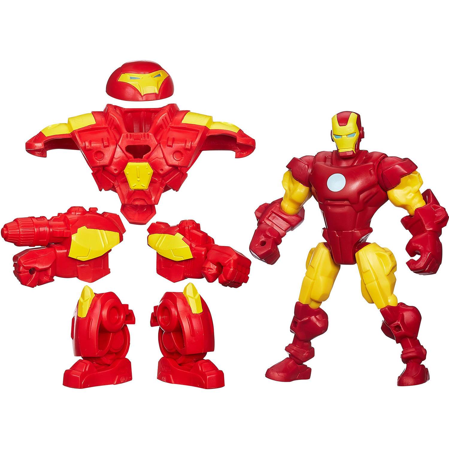 Super Hero Mashers Iron Man With Hulk Buster Gear