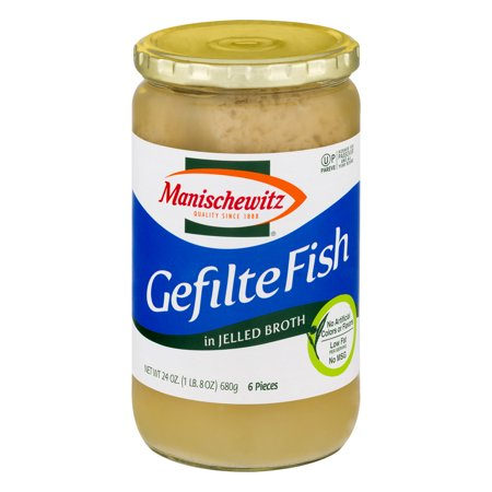Manischewitz Gefilte Fish in Jelled Broth, 24.0 OZ