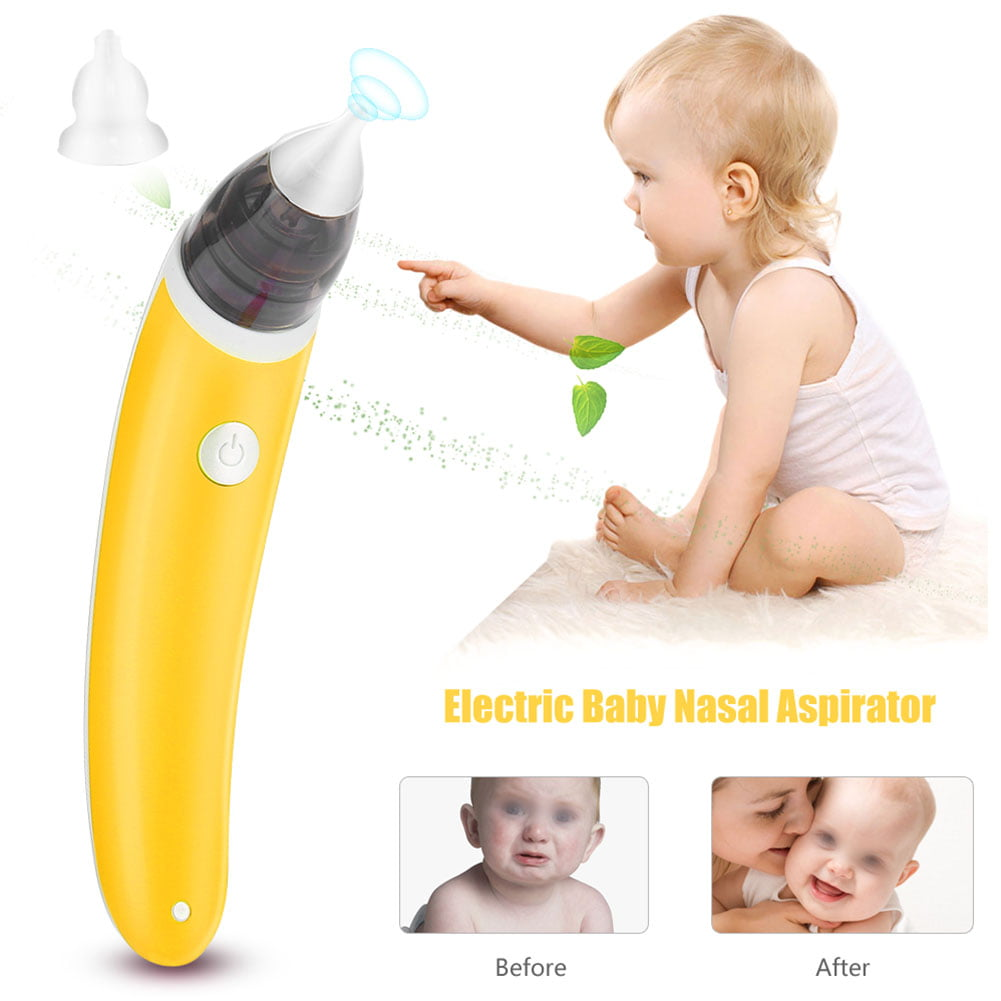 Herchr 2 Colors Electric Baby Nasal Aspirator Nose Cleaner