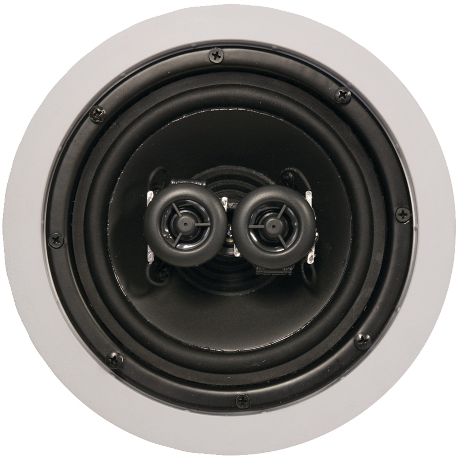 "ArchiTech AP-611 6.5"" 2-way Single-point Stereo In-ceiling Loudspeaker"