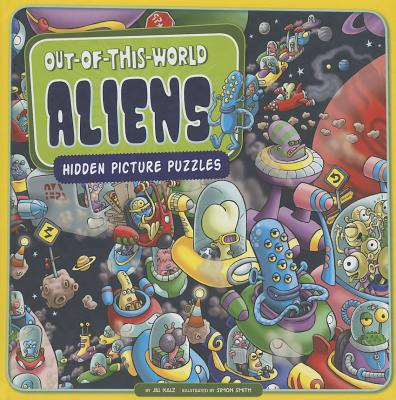 Out-Of-This-World Aliens : Hidden Picture Puzzles