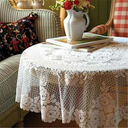 43 in. Victorian Rose Round Table Topper - image 1 de 1