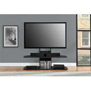 Galaxy XL Espresso TV Stand with Mount for TVs up 65""