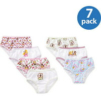 Disney Princess Girls' Panties 7 Pack