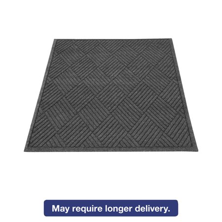Aluminum Diamond Plate Floor Mats (Guardian EcoGuard Diamond Floor Mat, Rectangular, 36 x 48, Charcoal )