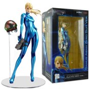 Metroid Other M Samus Aran Zero Figure Suit PVC Statue Japanese Sexy Strong Good Smile Company JUN13