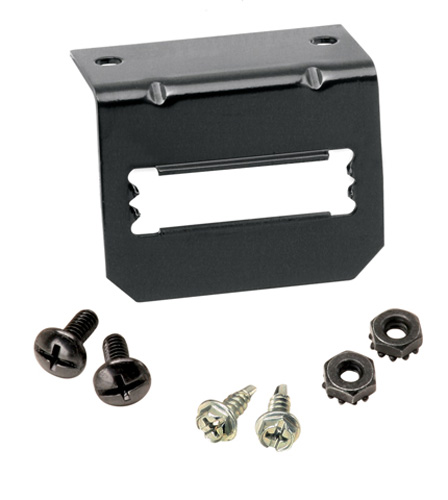 """7-Way Flat Pin To 4-Flat Adapter with 42"""" Retractable 4-Flat Replacement Auto Part, Easy to Install"""