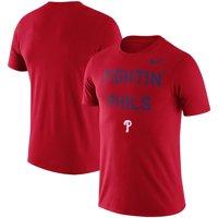 Philadelphia Phillies Nike MLB Fightin' Phils Local Phrase T-Shirt - Red