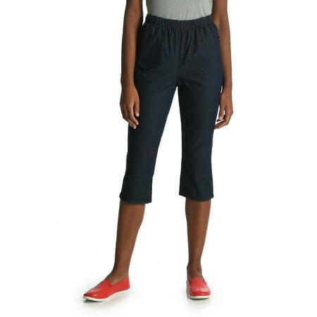 Adult Capri Pant - Women's Pull-On Utility Capri Pants