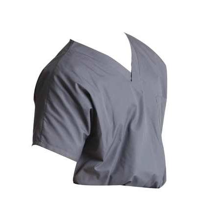 Scrub Zone 71221 M Scrub Shirt, Gray (Best Shrubs For Zone 6)