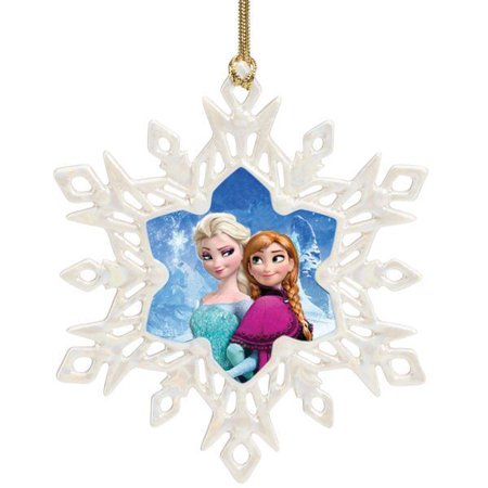 Lenox Disney Frozen Anna & Elsa Christmas Snowflake ...