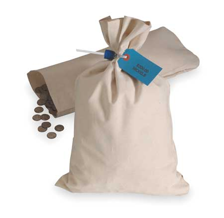 Currency Bag19x12,Natural MMF INDUSTRIES 2310319W06
