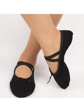 VICOODA Child Adult Ladies Ballet Shoes Dance Gymnastics Fitness Yoga Shoes Ballet Slippers Size 30-41