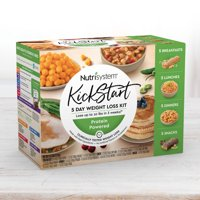 Nutrisystem Kickstart Green Protein-Powered Kit - Real Balanced Nutrition - 5-Day Weight Loss Kit with Delicious Meals & Snacks