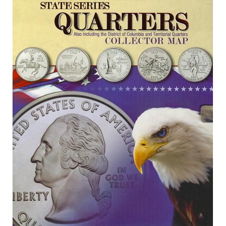 State Series Quarter Collector Map (Other) Rocket Collector Series