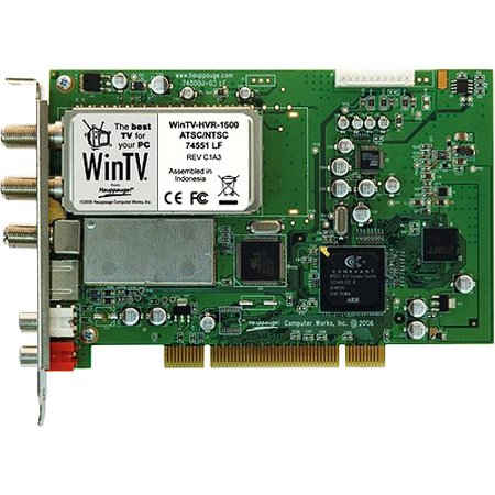 Hauppauge WinTV HVR-1600 - Digital / analog TV tuner / video capture adapter - ATSC, QAM - HDTV - PCI - (Hauppauge Wintv Dual Dvb T Tuner 1172)
