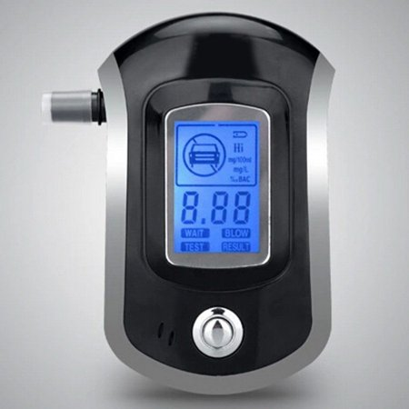 Professional Breath Blood Alcohol BAC Tester Blow-In Breathalyzer