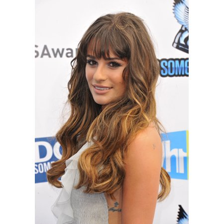 Lea Michele At Arrivals For Vh1 Do Something Awards   Arrivals Rolled Canvas Art     8 X 10