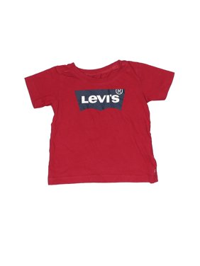 Pre-Owned Levi's Boy's Size 18 Mo Short Sleeve T-Shirt