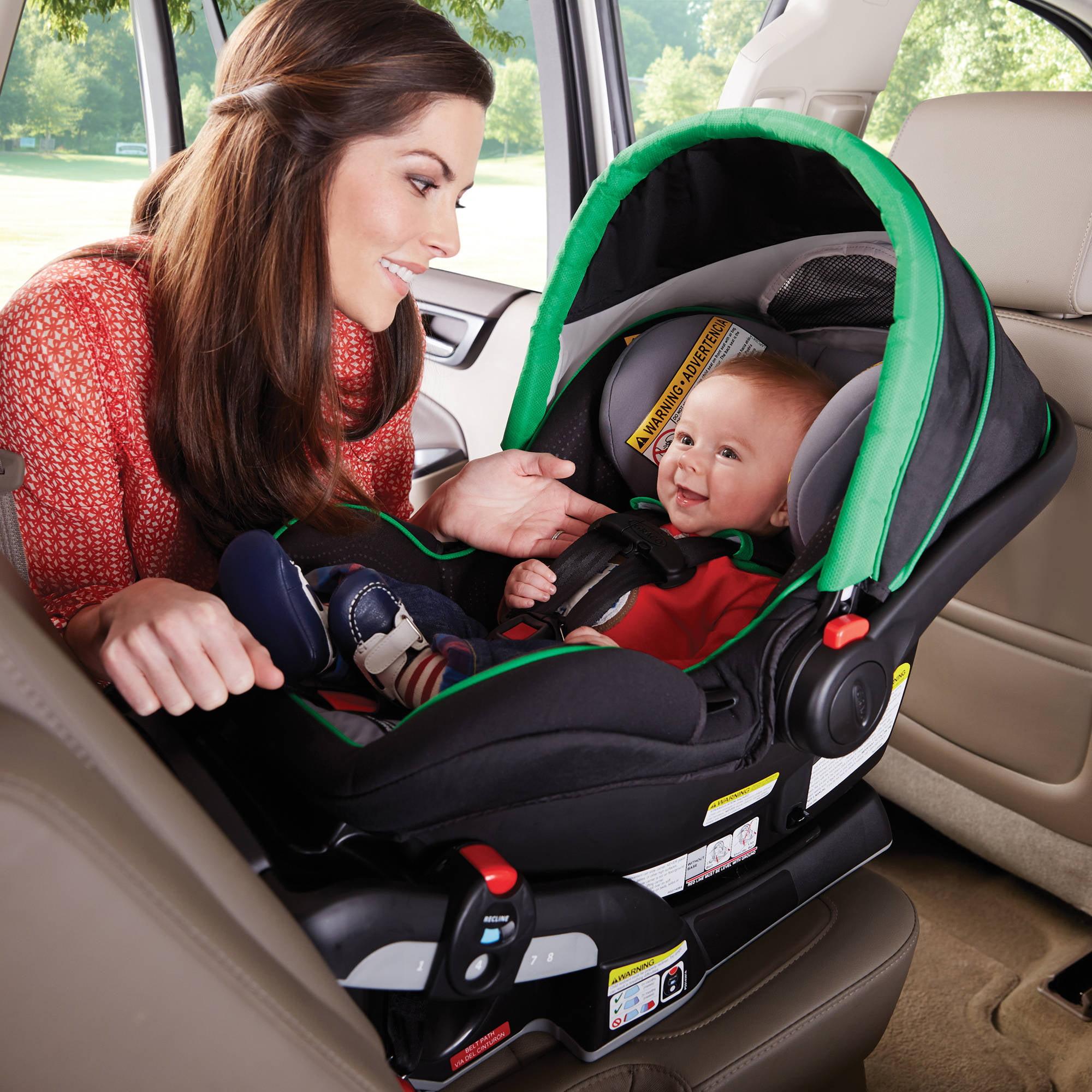 Graco SnugRide Click Connect 40 Infant Car Seat Fern