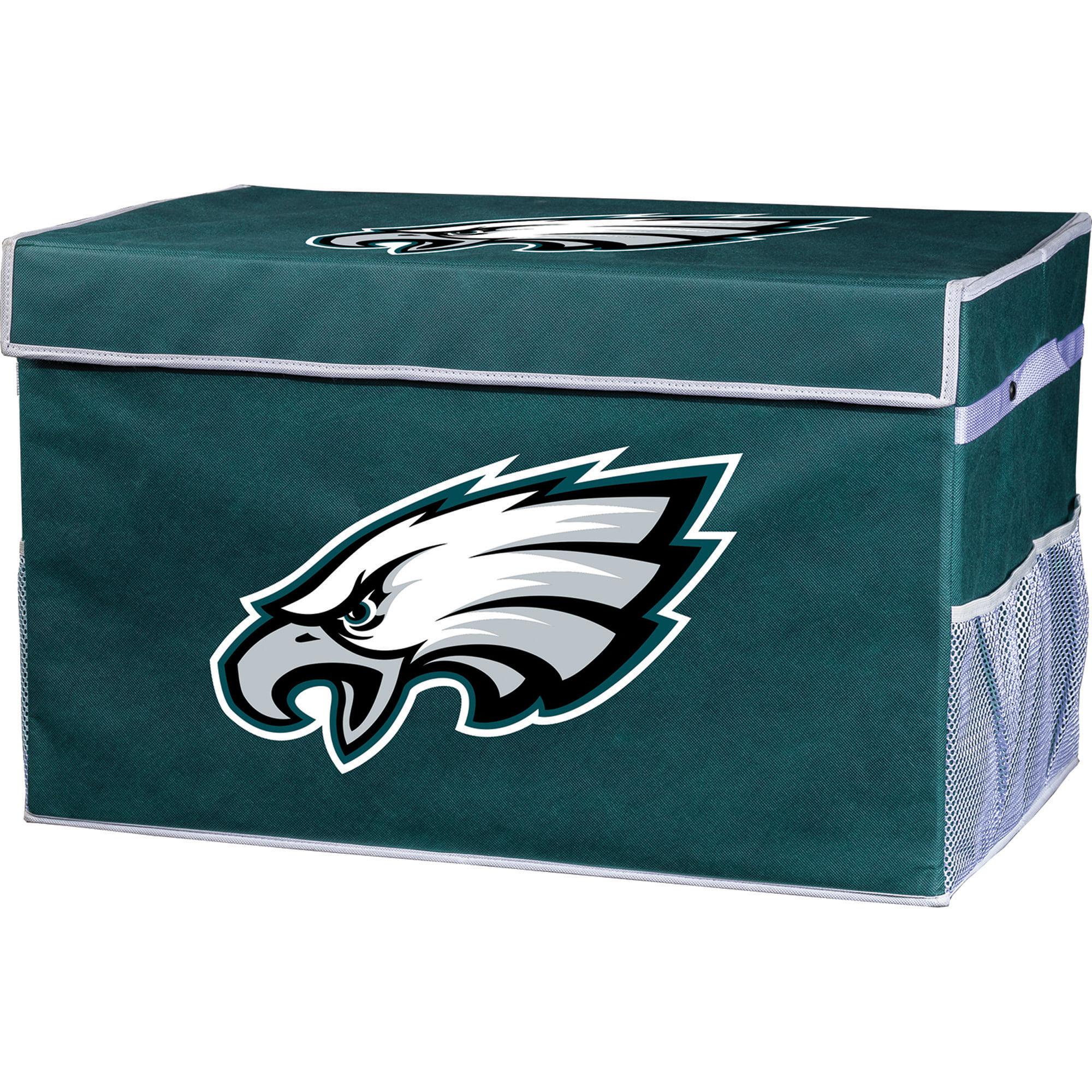 Franklin Sports NFL Philadelphia Eagles Collapsible Storage Footlocker Bins - Large