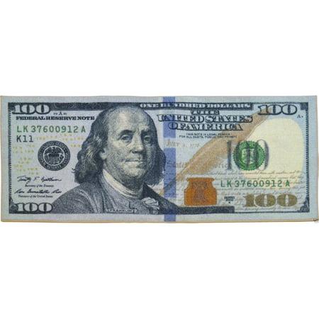 Big Money 100 Dollar Bill Area Rug Door Mat 22 Quot X 53 Quot New