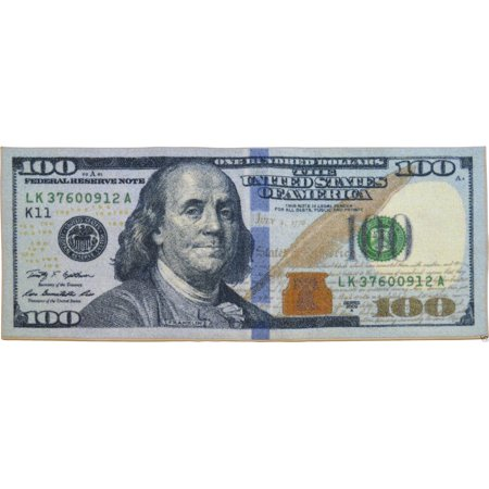 Big Money 100 Dollar Bill Area Rug Door Mat 22 Quot X 53 Quot New