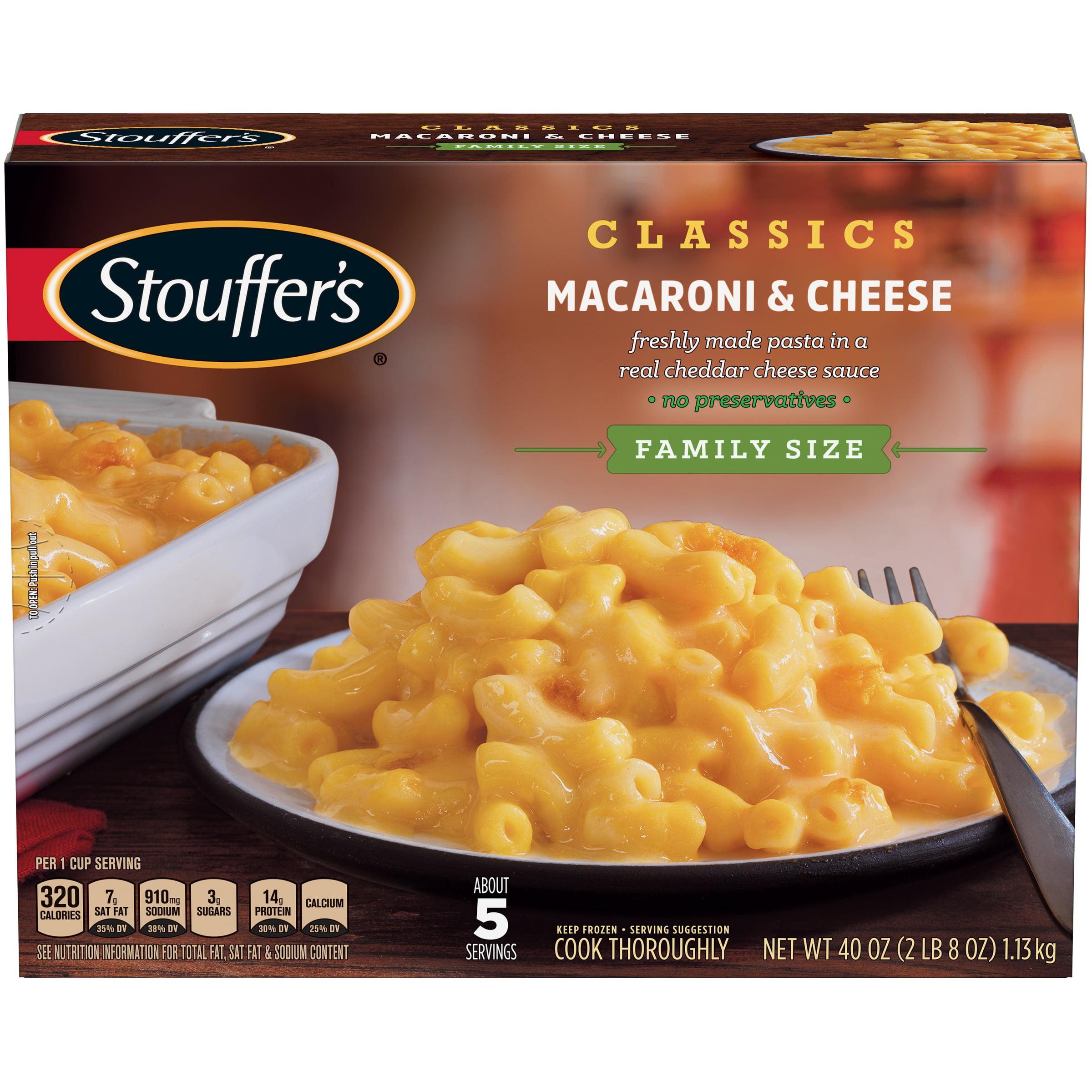 STOUFFER'S Family Size Macaroni & Cheese 40 oz. Box