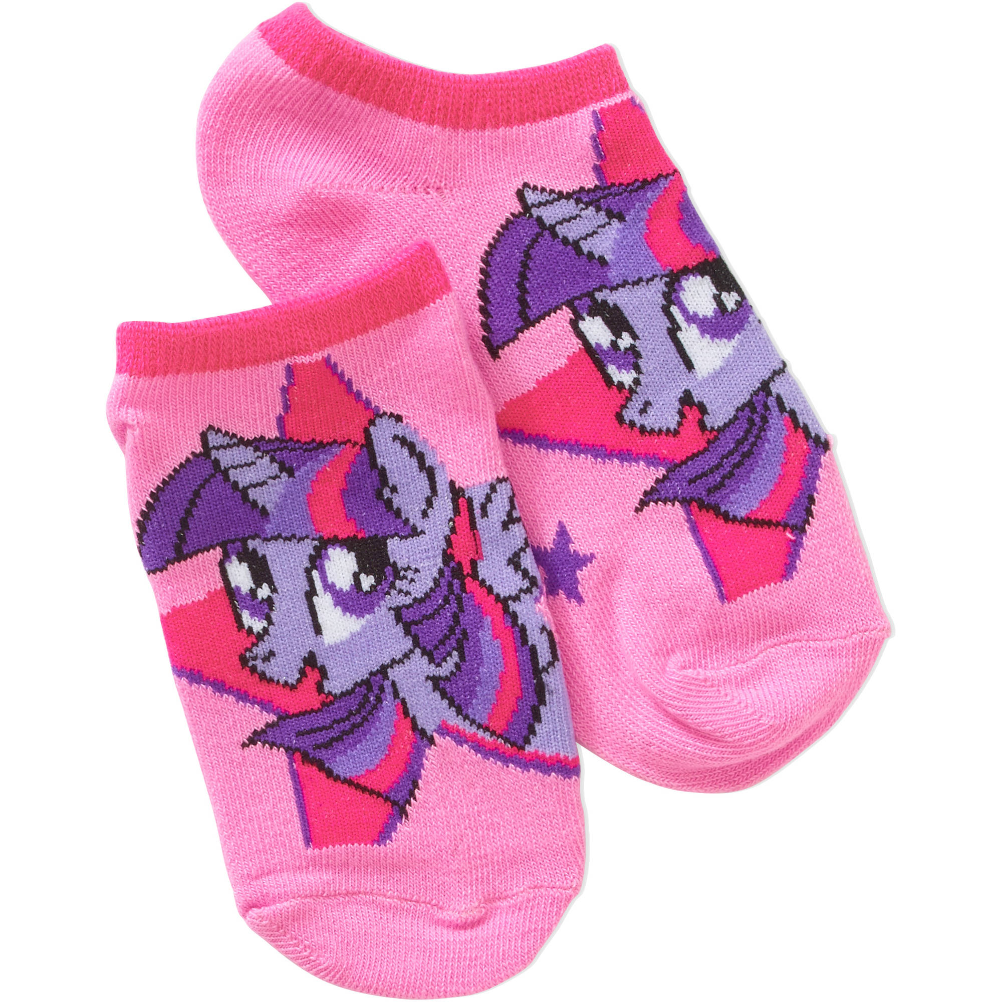 My Little Pony No Show, 5 Pack   2 Bonus Pairs